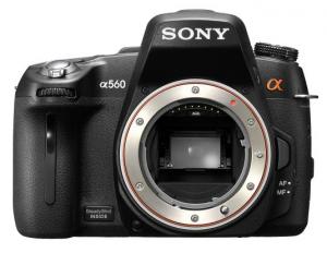 Sony Alpha DSLR-A560 - Front