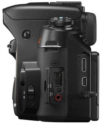 Sony Alpha DSLR-A560 - Left SIde