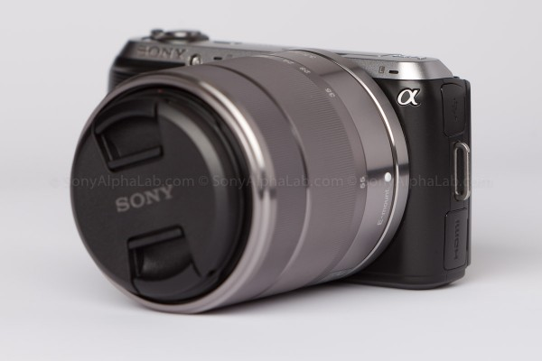 Sony Nex-C3 with 18-55mm lens