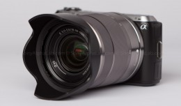 Sony Nex-C3 with 18-55mm lens