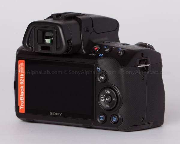 sony Alpha 35 - Back