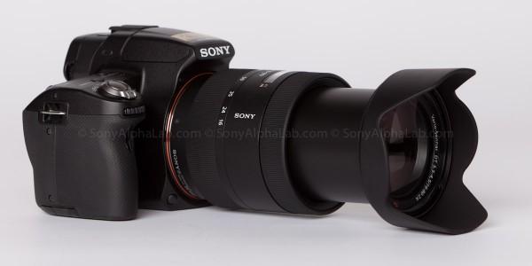 Sony Alpha 35, Sony SAL-1680Z Carl Zeiss 16-80mm f/3.5-4.5 Lens - Zoomed to 80mm