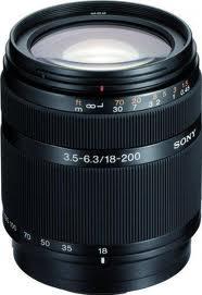 Sony SAL-18200 18-200mm f/3.5-6.3 DT Aspherical Autofocus Lens