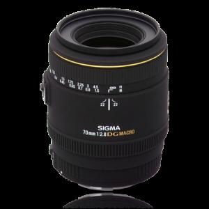 Sigma 70mm EX DG