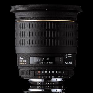 Sigma 20mm f/1.8 EX DG ASP