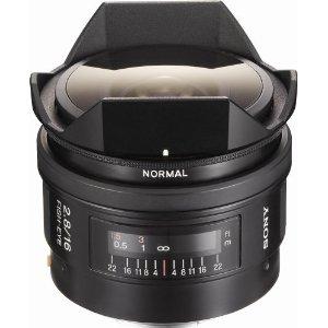 Sony SAL-16F28 Fisheye 16mm f/2.8 Autofocus Lens