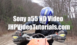 Sony a55 HD Video