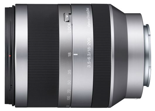 Sony E-Mount 18-200mm f/3.5-6.3 lens