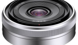 Sony E-Mount SEL16F28 16mm f/2.8 Wide-Angle lens