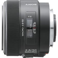 Sony SAL-50M28 Normal AF D 50mm f/2.8 Macro Autofocus Lens