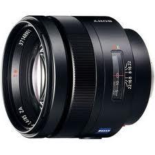 Sony SAL-85F14Z 85mm f/1.4 Carl Zeiss Planar T* Autofocus Lens