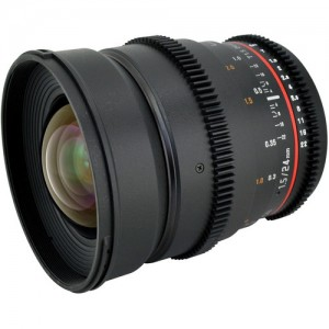 Rokinon 24mm T1.5 Cine Lens for Sony E-mount