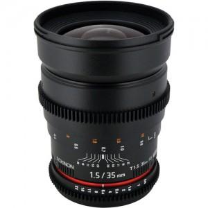 Rokinon 35mm T1.5 Cine Lens