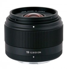 Sigma 19mm f/2.8 EX DN Lens for Sony E Mount Camera