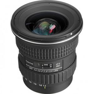 Tokina 11-16mm f/2.8 AT-X 116 Pro DX Lens