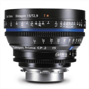 Zeiss Compact Prime CP.2 15mm/T2.9 E Mount with Imperial Markings