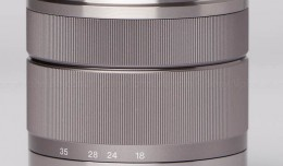 Sony E-Mount 18-55mm f/3.5-5.6 Zoom Lens @ 18mm