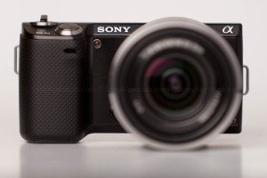 Sony Nex-5n w/ 18-55mm lens - Head On View