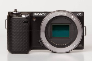 Sony Nex-5n w/ 18-55mm lens - Body Only Head On