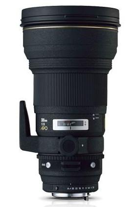Sigma APO 300mm f/2.8 EX DG lens