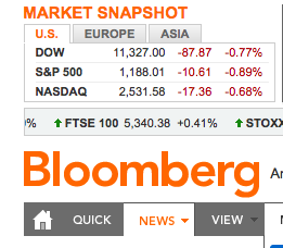 Bloomberg and Sony