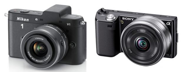 Nikon 1 vs Nex-C3