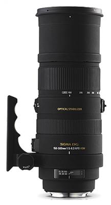 Sigma 150-500mm f/5-6.3 DG OS HSM APO Autofocus Lens