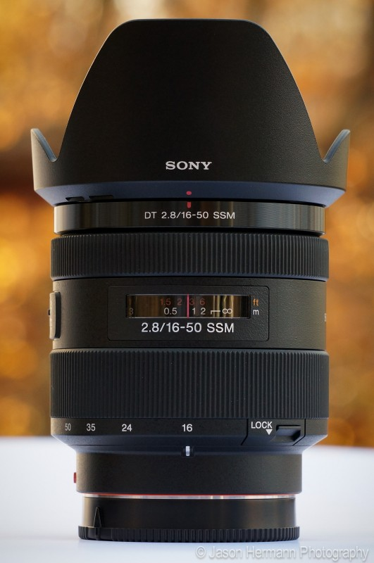 Sony A-Mount 16-50mm f/2.8 Lens