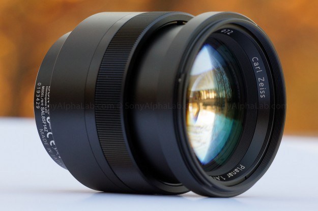 85mm f/1.4 Carl Zeiss Lens - A-Mount
