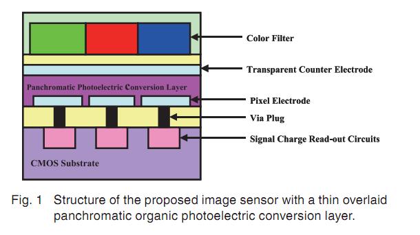 Fuji Organic Sensor