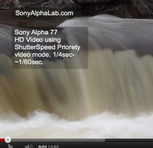 Sony Alpha 77 - Sample HD Video