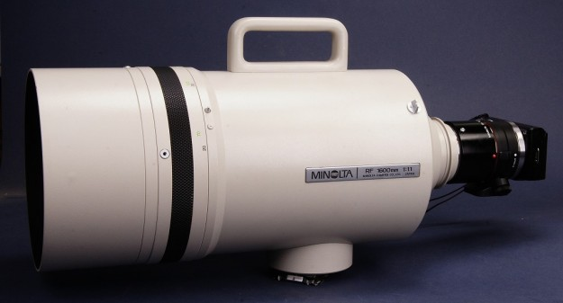 Minolta MD 1600mm Reflex Lens and Nex-5