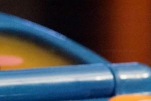 Multi Frame NR @ ISO 12800 - 100% Crop