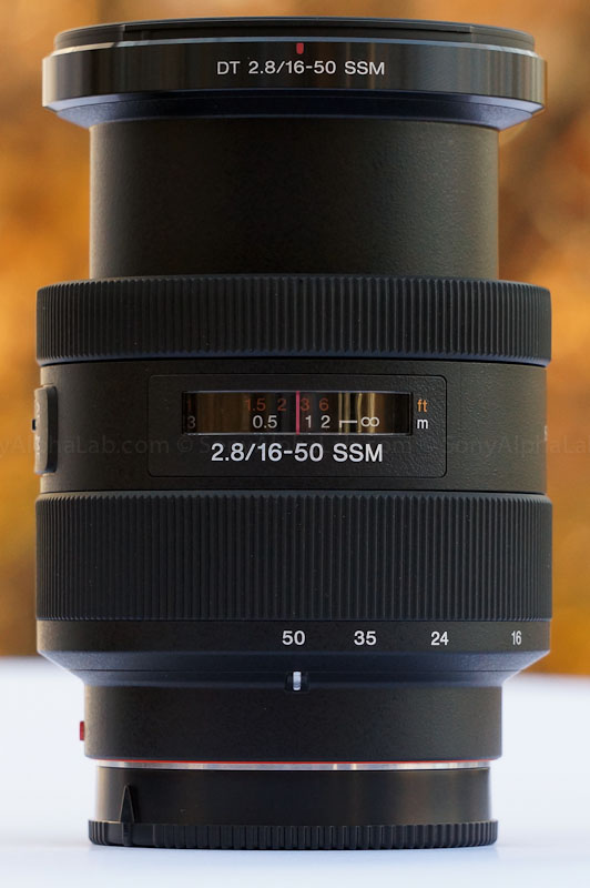 Sony 16-50mm f/2.8 Kit lens for a77
