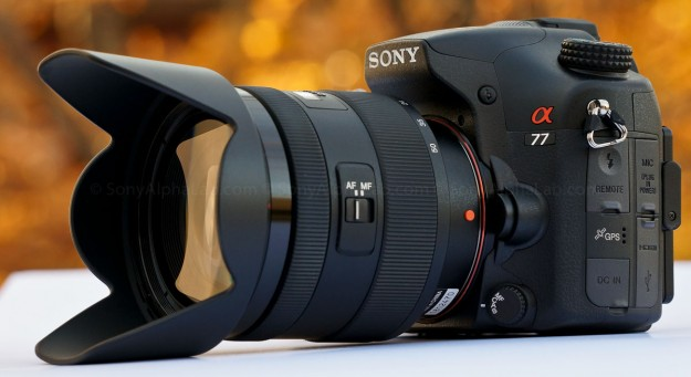 Sony Alpha 77 w/ 16-50mm f/2.8 Kit Lens @ 16mm