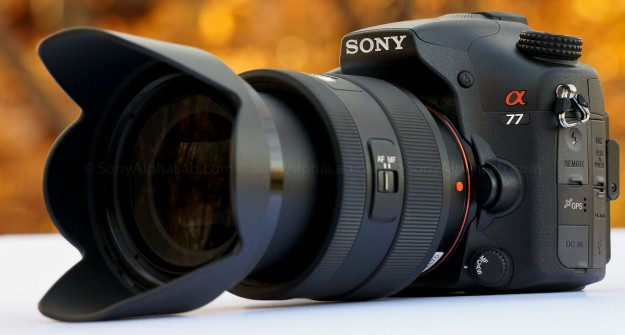 Sony Alpha 77 w/ 16-50mm f/2.8 Kit Lens