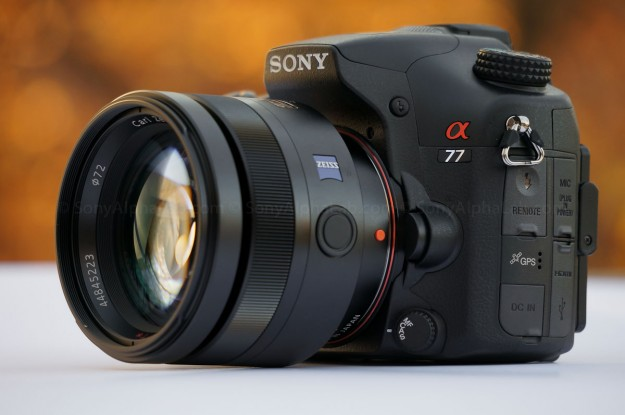 Sony Alpha 77 w/ 85mm f/1.4 Carl Ziess Lens