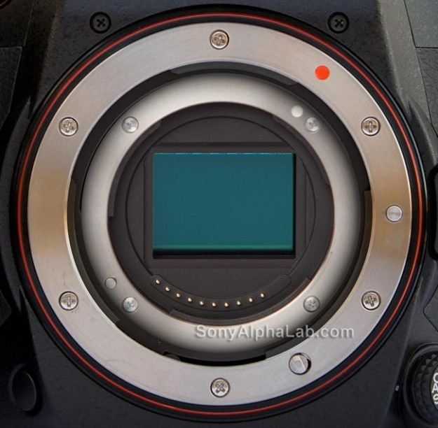 Sony's New AE Mount Rendering