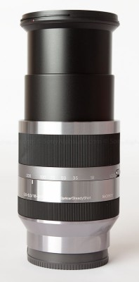 Sony 18-200mm f/3.5-6.3 OS Lens @ ~190mm