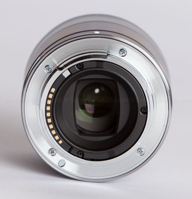Sony 30mm f/3.5 Macro Lens - Back