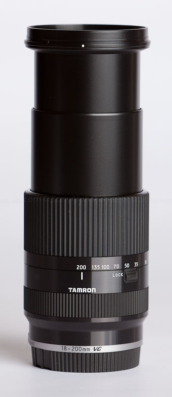 Tamron E-Mount 18-200mm VC III Lens @ 200mm
