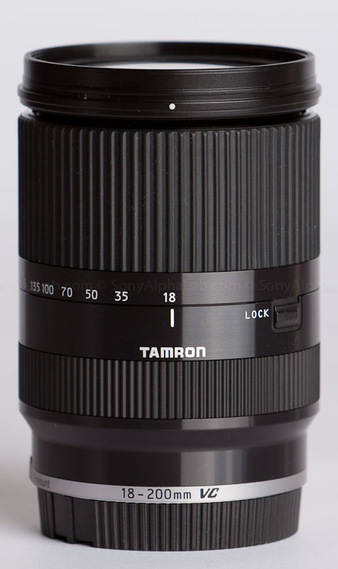 Tamron E-Mount 18-200mm VC III Lens @ 18mm