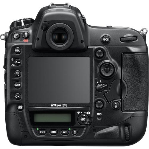 Nikon D4 - Back