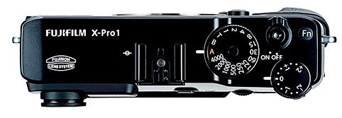FUJIFILM X-Pro1 - Top