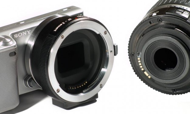canon ef to sony e-mount