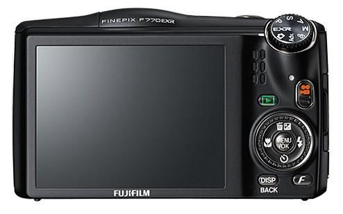 Fujifilm F770 EXR - Back
