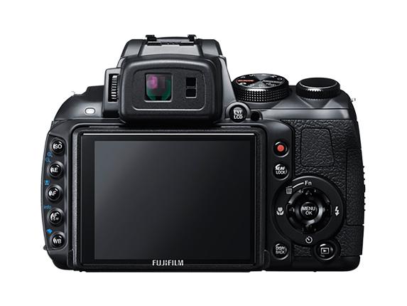 Fujifilm HS30EXR - Back