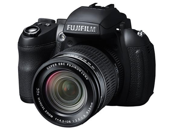 Fujifilm HS30EXR - Front