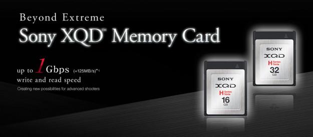 Sony XQD Memory Cards