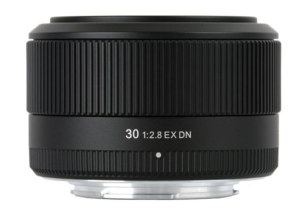 Sony 30mm f/2.8 EX DN lens